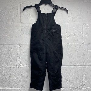 Kids Sonoma SNOW SUIT M Black Snowbib/Overall